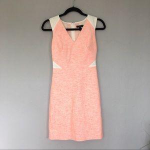 Jcrew: Sleeveless Tweed and Eyelet Dress